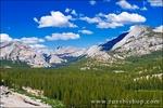 Tenaya Lake and granite domes, Tuolumne Meadows area, Yosemite National Park, California