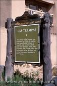 New Mexico historical marker at the Church of San Jose de Gracia de Las Trampas, Las Trampas, New Mexico