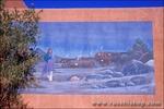 Mural at the Pueblo Indian Cultural Center, Albuquerque, New Mexico