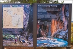 Interpretive signs at the Kolob Canyons Visitor Center, Zion National Park, Utah