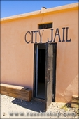 The city jail at the ghost town of Randsburg, California