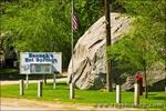 Keogh's Hot Springs on Highway 395 near Bishop, Owens Valley, California