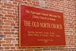 The Old North Church (Christ Church 1723) on the Freedom Trail, Boston, Massachusetts