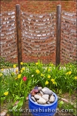 Dog tags in the memorial garden at the Old North Church, Freedom Trail, Boston, Massachusetts