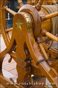 Ships wheel, USS Constitution (