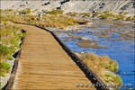 Boardwalk on the Salt Creek Trail, Death Valley National Park. California