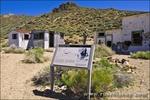 Aguereberry Camp at the Eureka Mine, Death Valley National Park. California