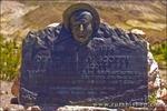 Grave of Walter Scott (Death Valley Scotty), Scottys Castle, Death Valley National Park. California