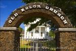The Old Koloa Church, Koloa, Island of Kauai, Hawaii