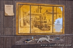 Mural on Cannery Row, Monterey, California