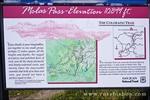Molas Pass interpretive sign, San Juan Skyway (Highway 550), San Juan National Forest, Colorado