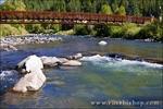 Bridge over the San Juan River, Pagosa Springs, Colorado