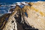 Sedimentary rock and tidepools, Montana de Oro State Park, California USA