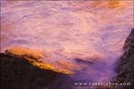 Evening light on rocks and surf, Julia Pfeiffer Burns State Park, Big Sur, California