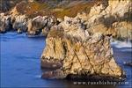 Rocky coastline at Soberanes Point, Garrapata State Park, Big Sur, California