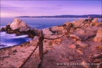 Sunset at Pinnacle Cove, Point Lobos State Reserve, Carmel, California