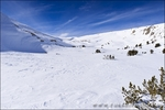 Piute Pass in winter, Inyo National Forest, Sierra Nevada Mountains, California