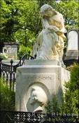 Frédéric Chopin's grave at Père Lachaise Cemetery, Paris, France