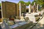 Holocaust memorials at P�re Lachaise Cemetery, Paris, France