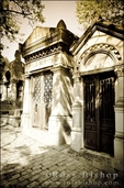 Mausoleum at P�re Lachaise Cemetery, Paris, France