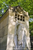 Raspail mausoleum at Père Lachaise Cemetery, Paris, France