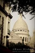 Sacre-Coeur Basilica dome, Montmartre, Paris, France