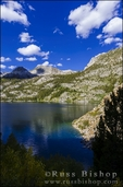 South Lake, John Muir Wilderness, Sierra Nevada Mountains, California USA