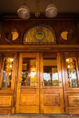 Entrance to the General Palmer Hotel, Durango, Colorado USA
