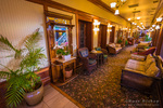 Sitting area at the General Palmer Hotel, Durango, Colorado USA