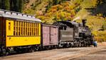 The Durango & Silverton Narrow Gauge Railroad, Silverton, Colorado USA