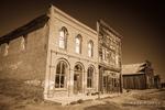 Dechambeau Hotel and I.O.O.F. Building, Bodie State Historic Park, California USA