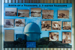 History of the 2.1 meter telescope at Kit Peak National Observatory, Tohono O'odham Indian Reservation, Arizona USA
