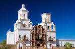 Mission San Xavier de Bac, Tohona O'odham Indian Reservation, Tucson, Arizona USA