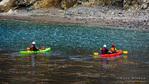 Kayaking at Scorpion Cove, Santa Cruz Island, Channel Islands National Park, California USA
