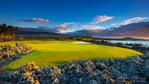 Hole 17 at the Four Seasons Hualalai Golf Course, Kohala Coast, The Big Island, Hawaii USA