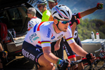Professional cyclist Mark Cavendish at the Amgen Tour of California, Santa Monica Mountains, California USA