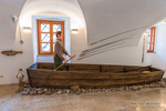 Fishing display in the Natural History Museum, Brod, Croatia