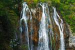 Waterfall along the Korana River, Plitvice Lakes National Park, Croatia