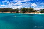 Kayaking in San Simeon Cove, Hearst San Simeon State Park, California USA