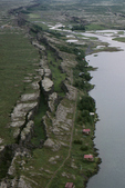 Thingvellir Rift, Iceland. aerial 
