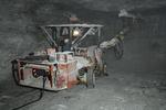 drilling blast holes, double drill jig, Hutchinson Salt Mine, Kansas