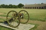 Fort Larned parade ground, Kansas