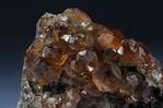Garnet var. Grossular, Jeffrey Mine, Asbestos, Quebec, Canada