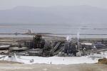 chemical plant, Dead Sea, Israel