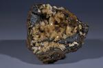 Adamite on Goethite, Ojuela Mine, Mapimi, Durango, Mexico