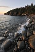 sunrise at Otter Cliffs, Acadia National Park, Maine