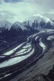 medial moraines, Muldrow Glacier, Denali National Park, Alaska