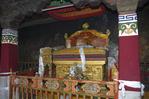 Dalai Lama throne, Jokhang Temple, Lhasa, Tibet