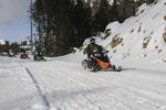 snowmobiles in Yellowstone