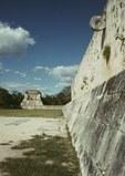 Mayan Ball Court, Chichen Itza, Yucatan, Mexico